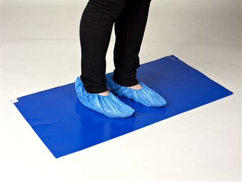 Adhesive Plastic Floor Mats by Sticky Tac Tack Tacky Mat Adhesive Protection 60cm X 90cm
