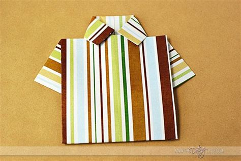 Easy Origami Shirt - best 25 origami shirt ideas on h m origami