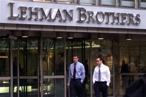 Lehman College Mba by Why Lehman Brothers Did Repo 105 And Collapsed