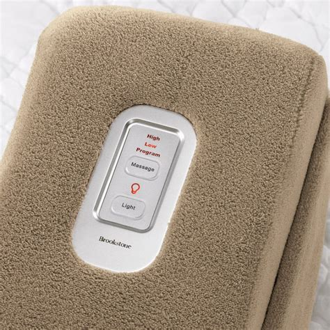 Brookstone Pillow Remote by Nap Massaging Bed Rest Icreatived