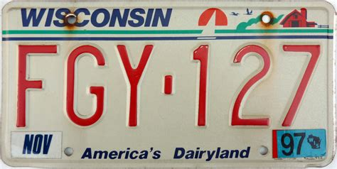 Wisconsin Vanity Plates by All 50 United States License Plates Ranked Thrillist