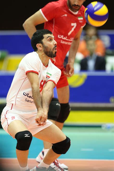libero volleyball iranian libero farhad zarif volleyball player retires