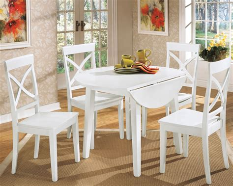 small white kitchen table and chairs 5 styles of drop leaf dining table for small spaces