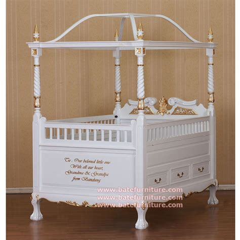 baby beds classic canopy baby crib furniture
