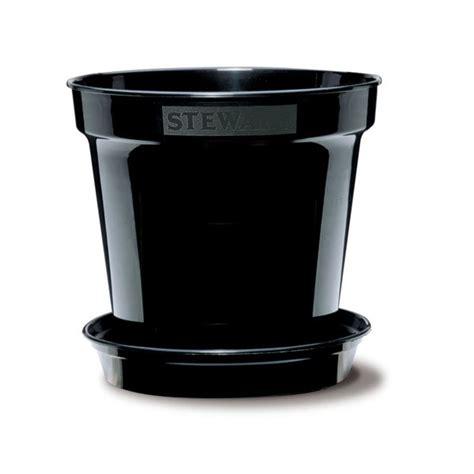 Black Flower Pots Black Flower Pot Trendy Mods