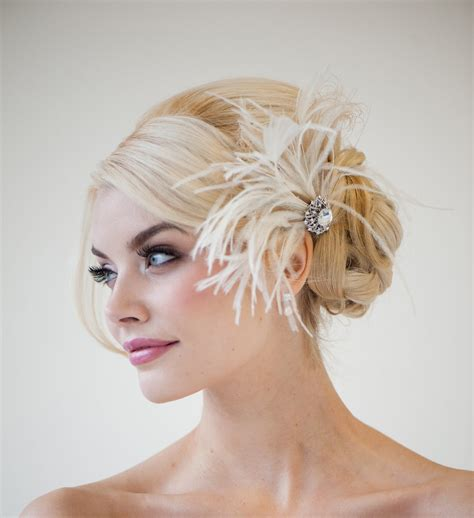 braut fascinator bridal fascinator wedding fascinator feather headpiece
