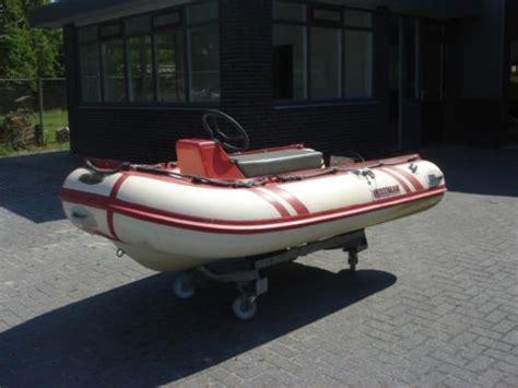 rubberboot met stuur zonder motor suzumar rib 290 met stuurconsole koopje advertentie 525104