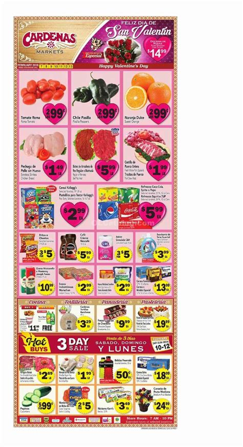 cardenas weekly ad for this week grocery ads on pinterest supermarket coupons mini store
