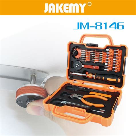 jakemy 47 in 1 precision screwdriver repair tool kit jm 8146 jakartanotebook