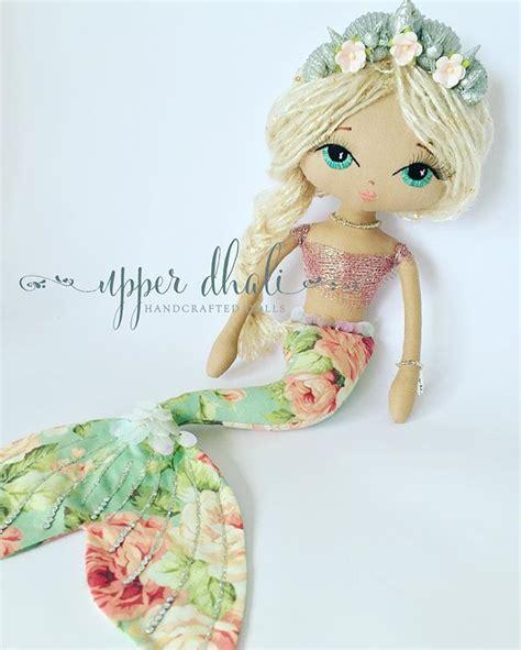 Handmade Mermaid - best 25 mermaid dolls ideas only on sewing