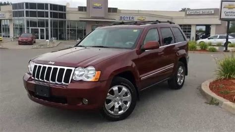 2008 jeep grand interior 2008 jeep grand 4wd limited diesel loaded