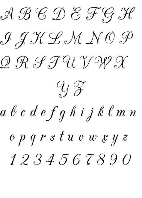 different fonts for tattoos cool font ideas design ideas