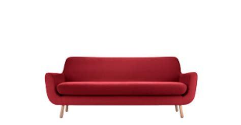 italia arreda arreda il soggiorno con il divano 3 posti jonah in rosso