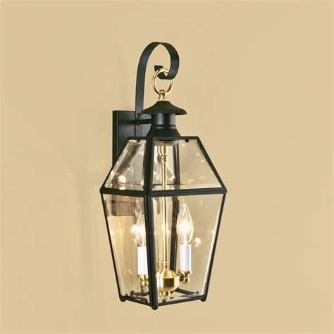 norwell lighting norwell lighting olde colony black outdoor wall light 1066 bl be destination lighting
