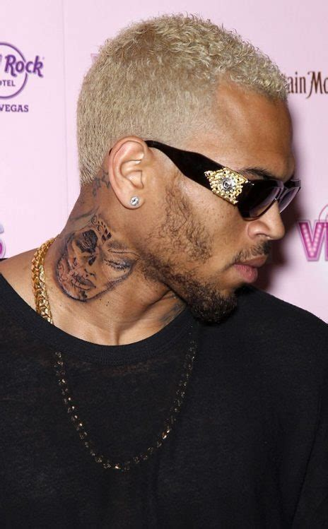 chris brown neck tattoo memes 96 best images about celebrity inks on pinterest