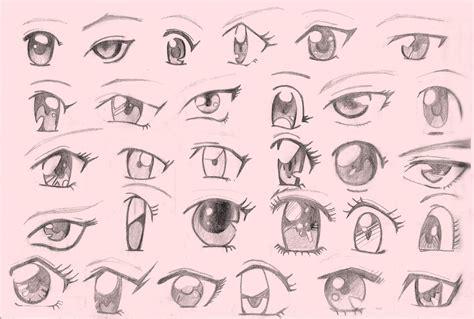 imagenes de ojos con orzuelos dibujar ojos anime paso a paso buscar con google ojos