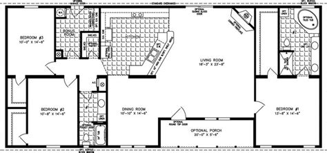 home floor plans 2000 square feet 2000 sq ft floor plans the tnr 46816w manufactured