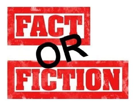 what does fiction fact or fiction thoughts and some happenings