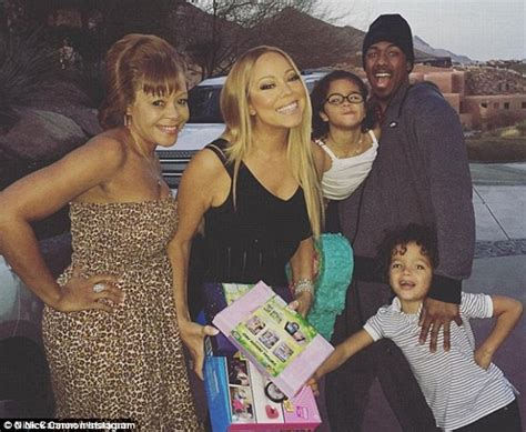 nick cannon enjoys family fun with ex mariah carey and