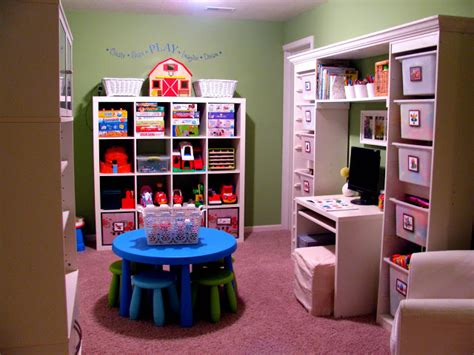 organized kids room planning a playroom expedit trofast
