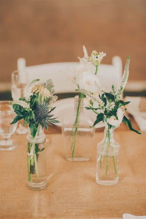 Intimate Ontario Wedding   Wedding Centerpieces   Wedding