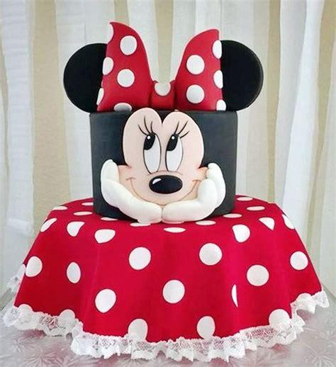 decoracion de tortas con crema de minnie las 10 tortas m 225 s lindas de minnie mouse todo bonito