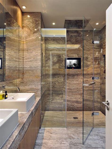 travertine tile ideas bathrooms travertine shower houzz