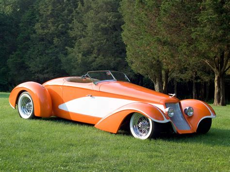 deco custom cars deco rides boattail speedster by chip foose foose cars chip foose cars and