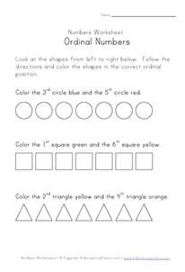 free coloring pages of ordinal numbers