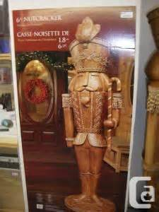 6ft tall nutcracker wood in box burnby for sale in