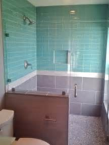 beautiful Subway Tiles For Backsplash In Kitchen #4: modwalls_lush_3x6_pool_bath_installation.jpg