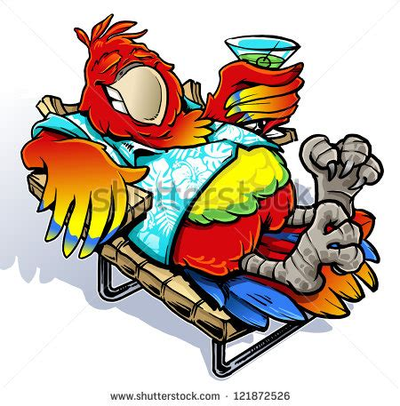 margaritaville cartoon margaritaville cartoon parrot pictures to pin on pinterest