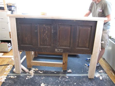 making headboards out of old doors ain t she crafty how to build a headboard from an old door