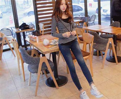 kaos wanita korea import lengan panjang model terbaru