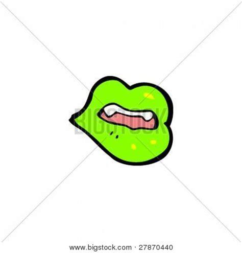 imagenes de labios verdes vectores y fotos en stock de dibujos animados de labios