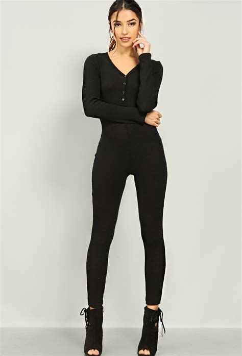 Yumico 3 In 1 Jumpsuit ribbed knit leotard jumpsuit shop jumpsuit romper at papaya clothing