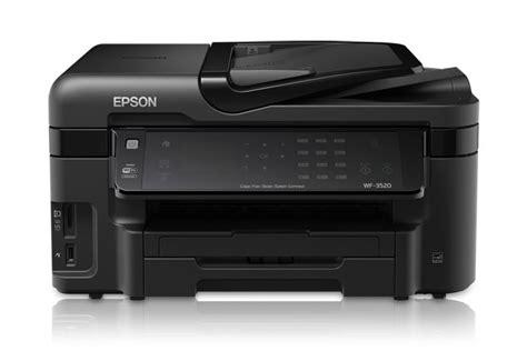 Printer Epson Workforce Wf 3520 epson workforce wf 3520 all in one printer all in one