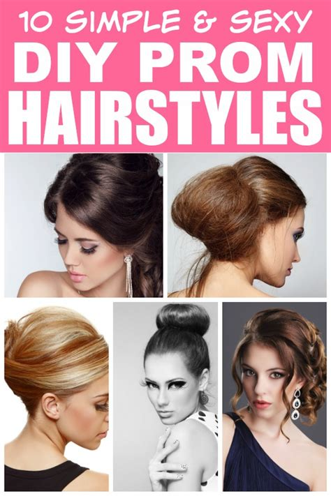 10 easy diy prom hairstyles