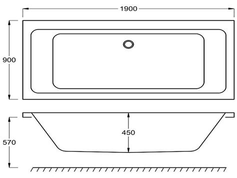 Regular Bathtub Size by Standard Bathtub Sizes Images
