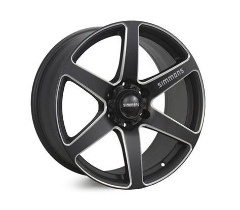 Simmons Mba by Simmons 20x9 0 6x139 7 S6s Et20 Mba Matte Black Chamfer
