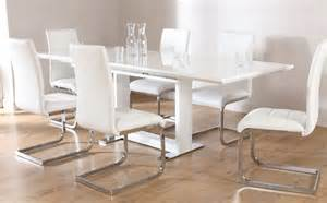 High Gloss Extending Dining Table Tokyo White High Gloss Extending Dining Table And 8 Chairs Set Perth White Only 163 799 99