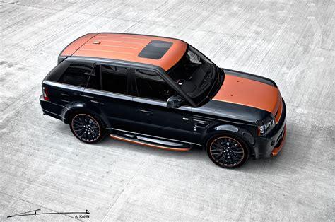 kahn range rover sport project kahn range rover vesuvius edition sport 300