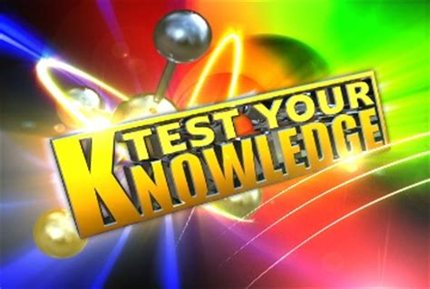 a trivia quiz to test your knowledge of the test your knowledge reets drying academy