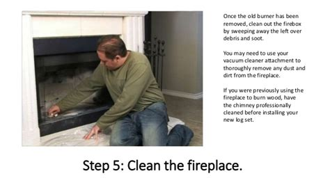 install gas fireplace logs how to install gas fireplace logs