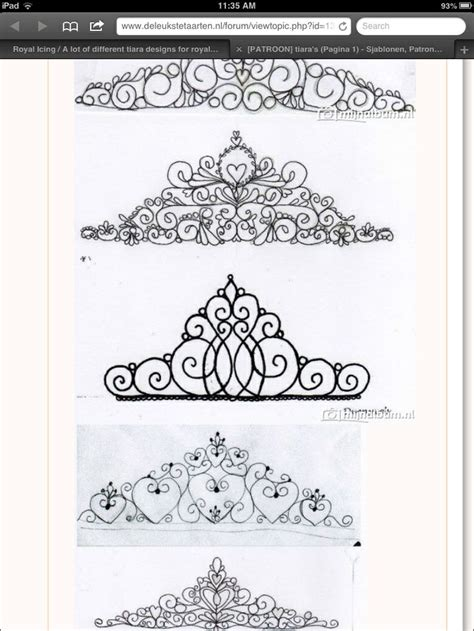 tiara template for cake 25 best ideas about tiara on
