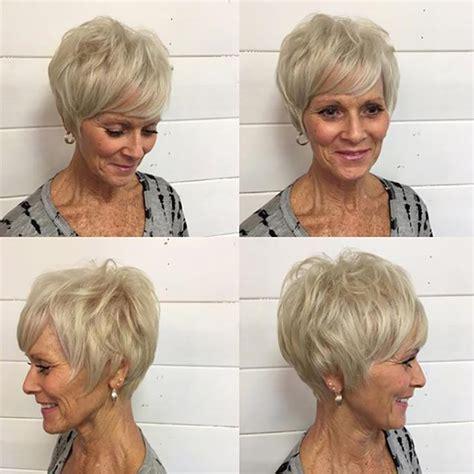 short shaggy wedges for women over 60 20 best short hairdos for women over 60 will knock 20