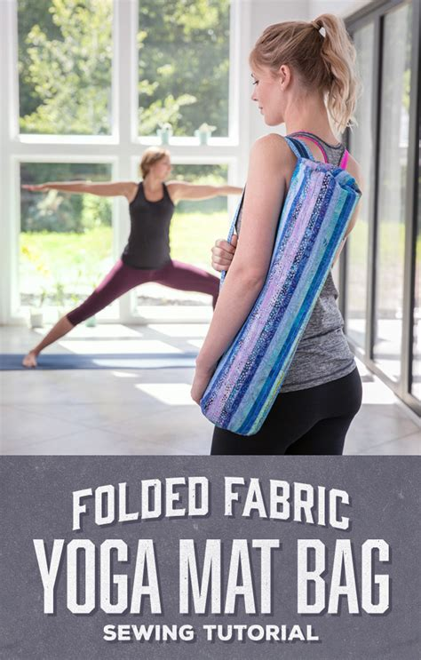 yoga bag pattern youtube folded fabric yoga mat bag man sewing