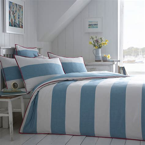 Buy Seasalt Cornish Stripe Bedding Modern Duvet Covers Modern Bedding Sets Uk