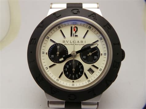 Jam Replika Bulgari Diagono Chrono Rubber Ultimate Clone 11 Dgn Asli bvlgari aluminium watches