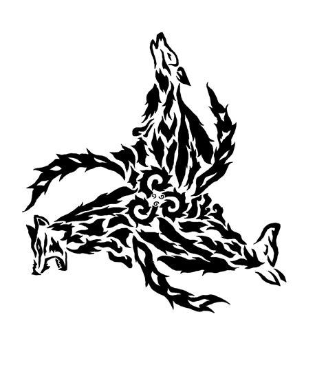 tattoo design wolf triskelion tribal pok 233 charms